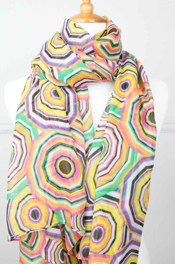 Multi Colour Sphere Scarf - desray.co.za