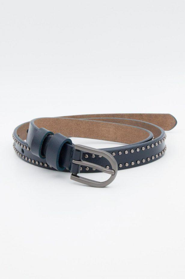 Navy Small Studded Belt - desray.co.za