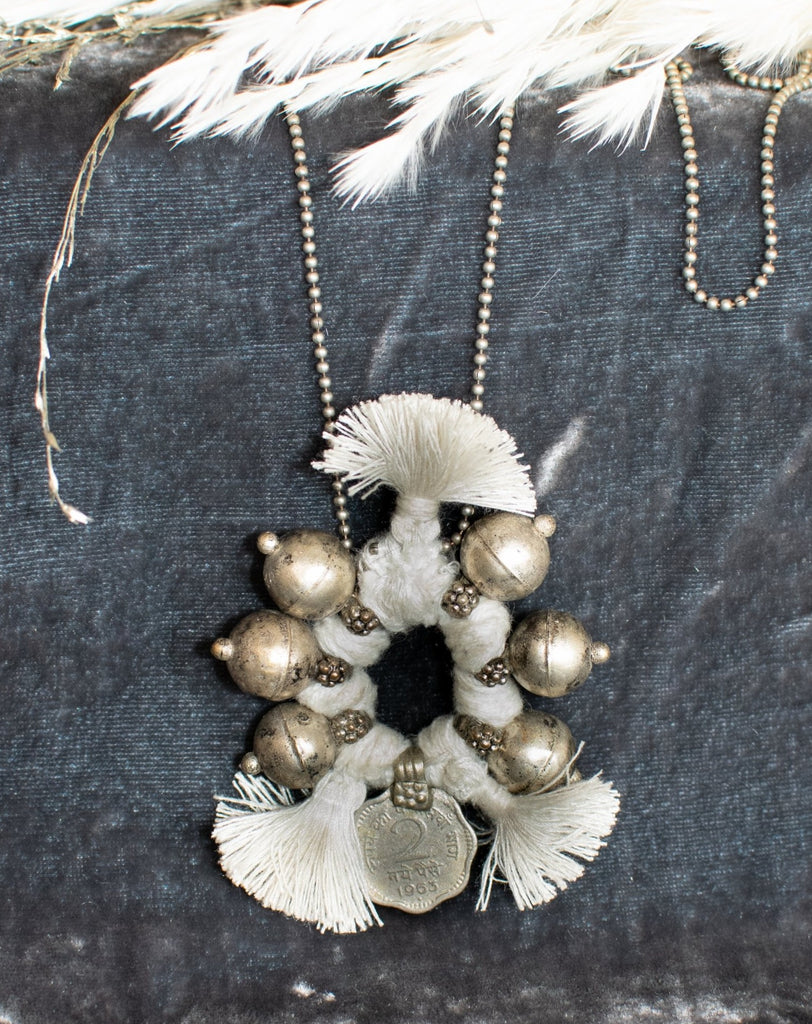 White Boho Necklace - desray.co.za