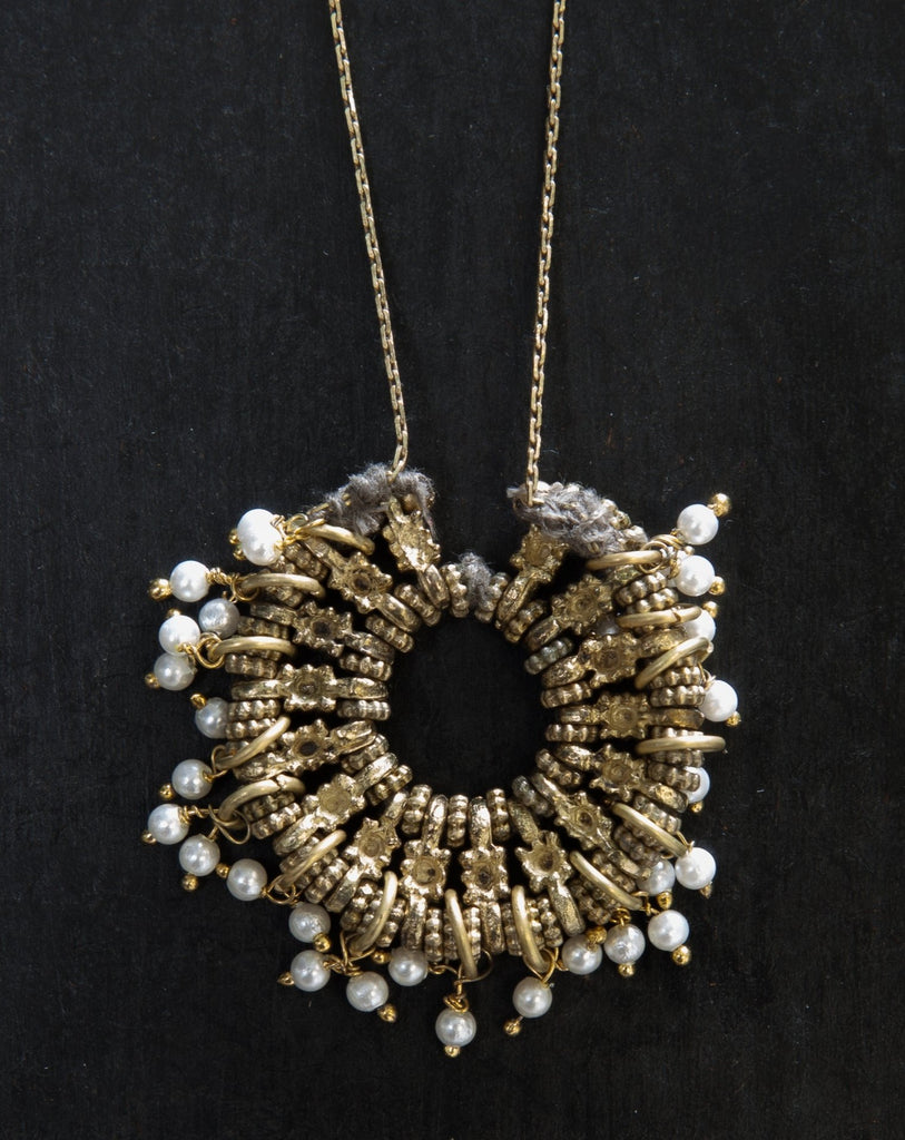 Taupe Oasis Necklace - desray.co.za