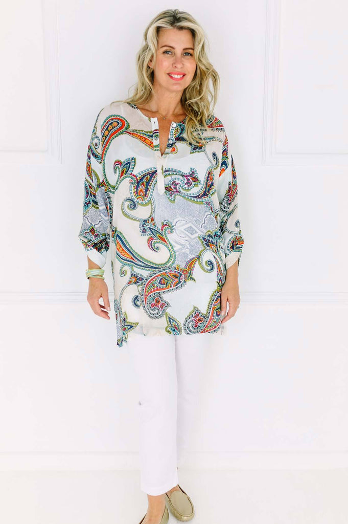 Paisley Long Top - desray.co.za