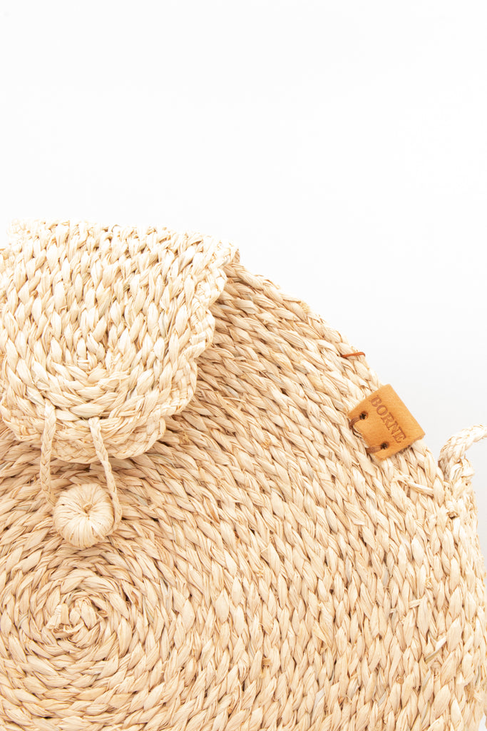 Round Raffia Bourne Bag - desray.co.za