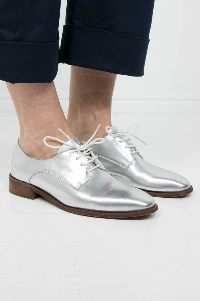 Silver Brogues - desray.co.za