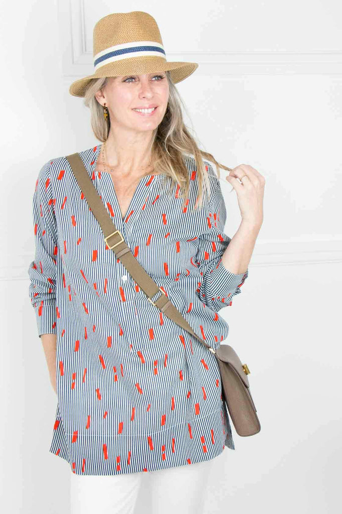 Stripe Montagu Tunic Top - desray.co.za