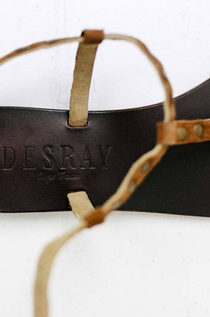 Tan Studded Sandal - desray.co.za