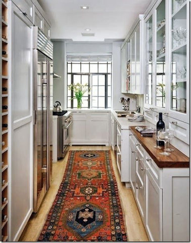 Oriental Rug In The Kitchen Onh Sourcing Series 6