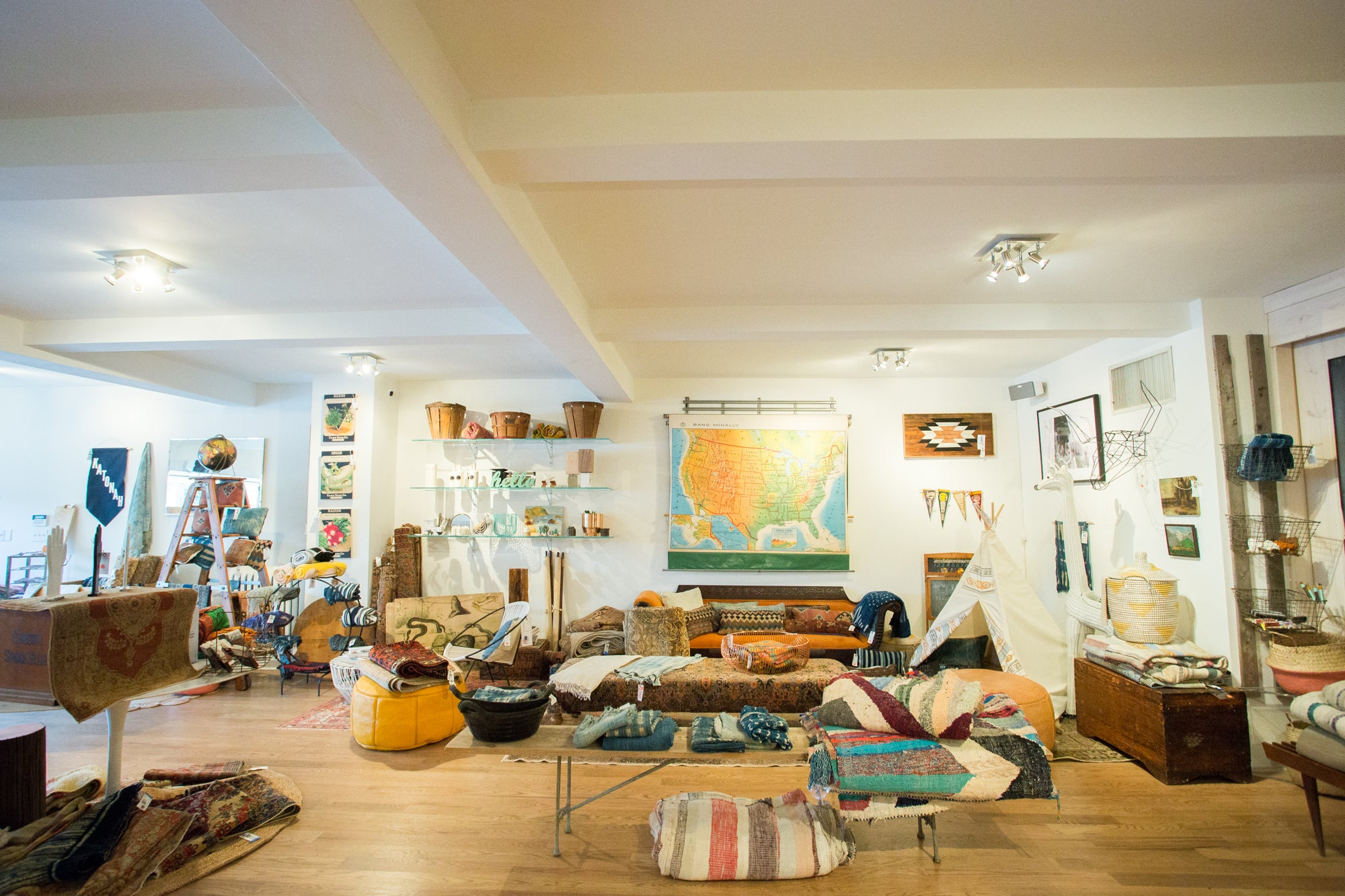 Katonah NY Flagship Store Vintage Rugs Antique Carpets Handmade Items and Homegoods