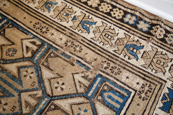 3x4 Antique Caucasian Rug - Old New House