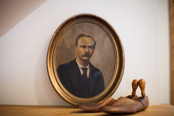 Painted Portrait Of A Father