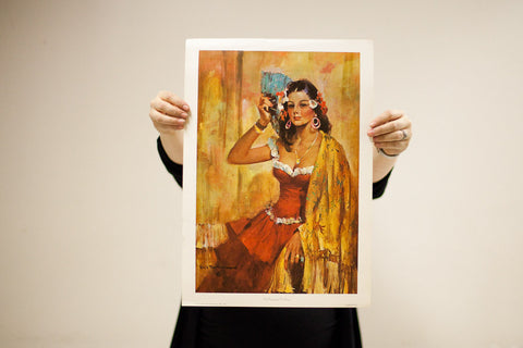 Rico Tomaso The Contessa Lithograph
