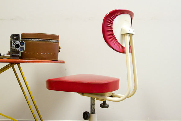 Vintage Okamura Swivel Chair - Old New House