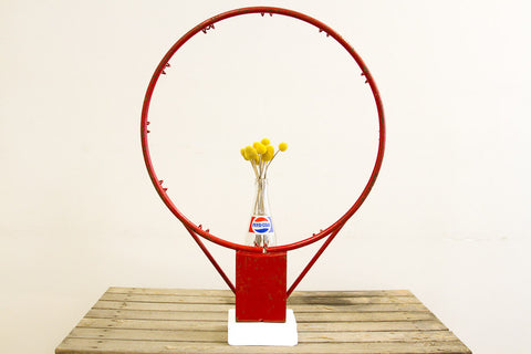 Basketball Hoop Industrial Accent - Old New House