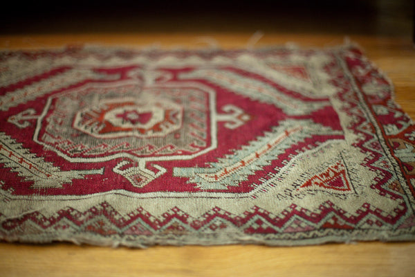 Red antique tribal rug