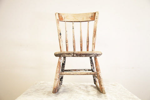 Antique Rush Seat Chair Old New House Furniture