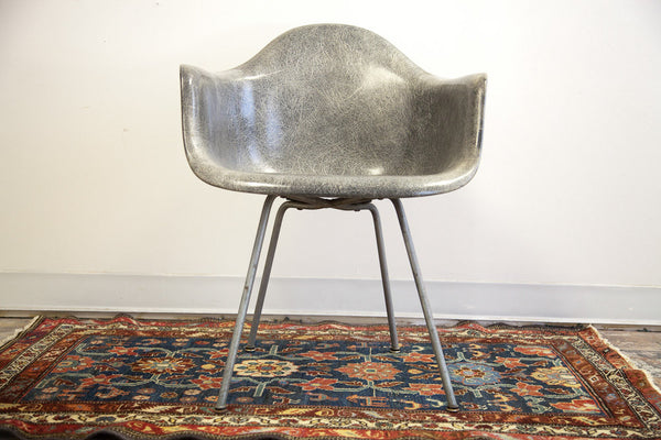 Rare Eames Lax Rope In Grey