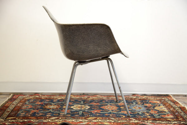 Rare Eames LAX Rope Edge Elephant Grey Herman Miller Chair - Old New House