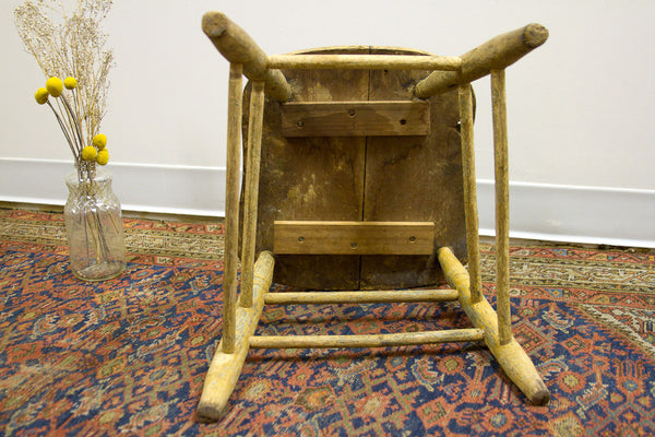 Rustic Stool Primitive Table