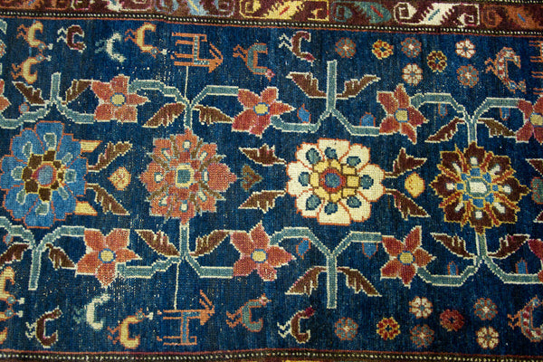 3x5 Blue Vintage Rug - Old New House