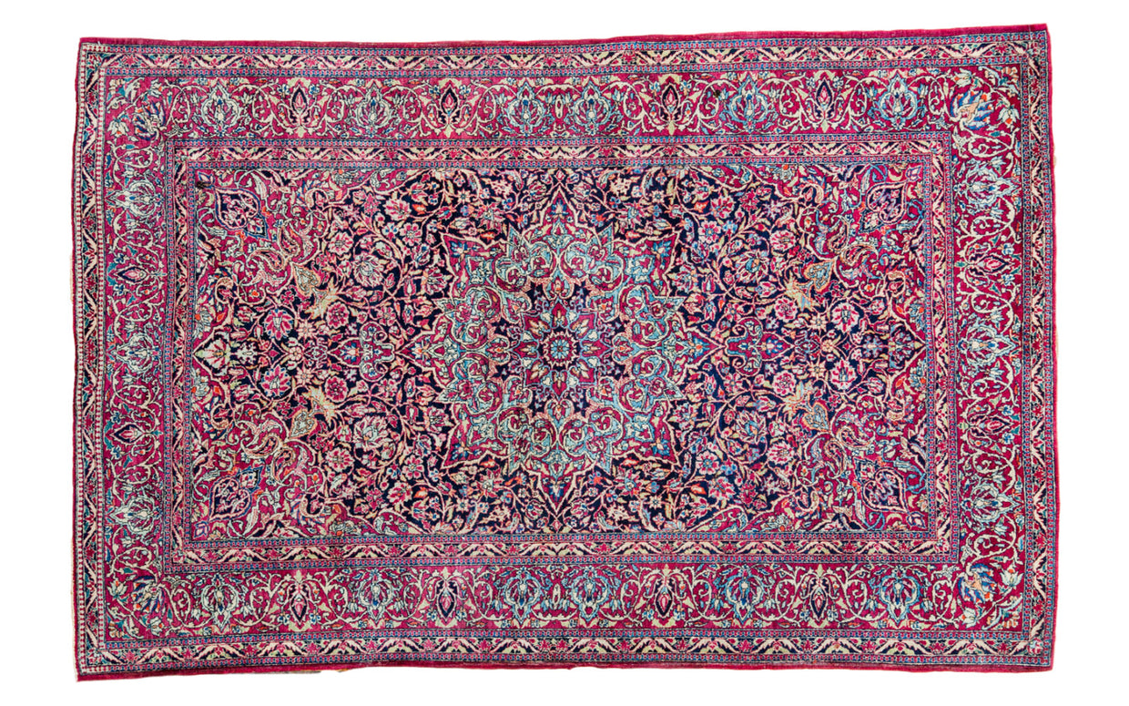 5x7 Persian Isfahan Rug - Old New House