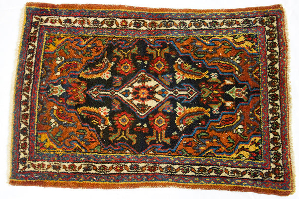 Small Bijar rug