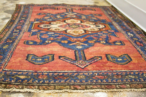 3x4 Jewel Rose Persian Rug - Old New House