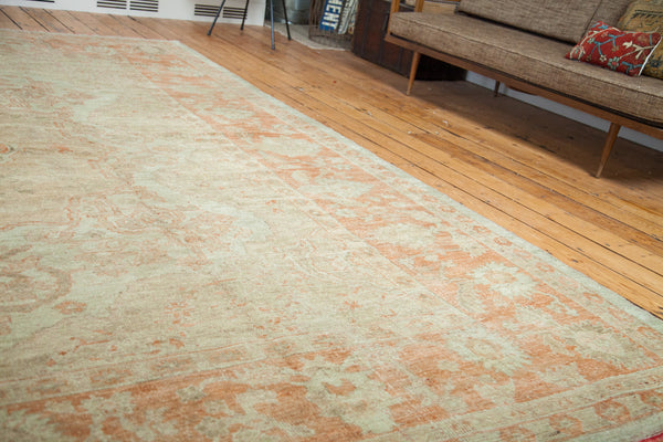 11x13 Oversize Oushak Carpet - Old New House