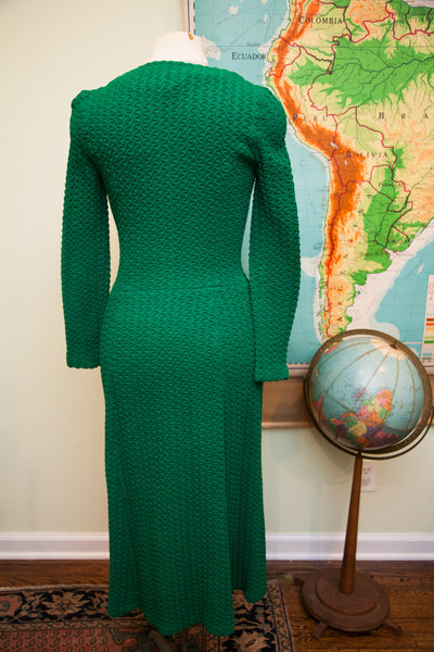 Vintage 60s Betsey Johnson Paraphernalia Green Dress // St. Patricks Day Outfit // Size 0 - 2