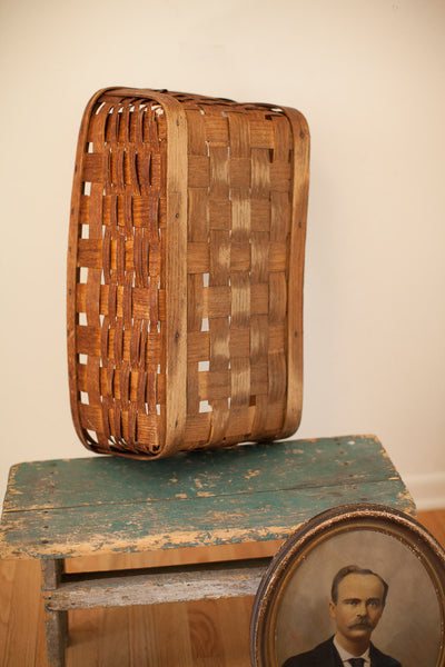 Antique Large Basket