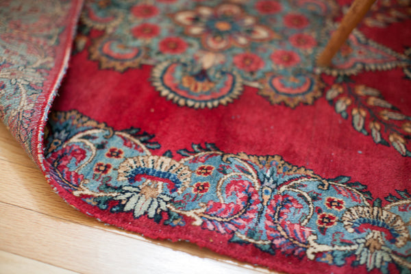 2.5x5 Vintage Hot Pink Rug - Old New House