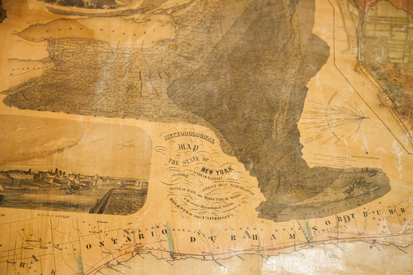 Pre Civil War New York Pulldown Map