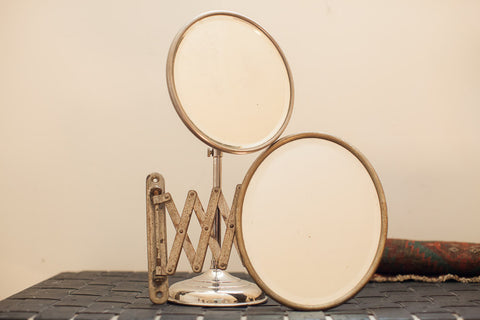 Antique Shaving Mirror Set - Old New House