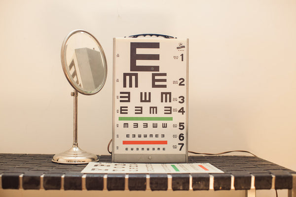 Graham Field Eye Exam Equipment - Old New House