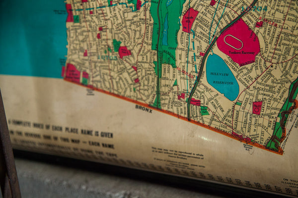 Industrial Westchester Pulldown Map