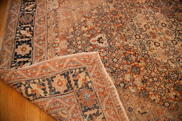 4x6 Fine Antique Tabriz Area Rug - Old New House