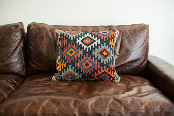 Large Antique Kilim Pillow