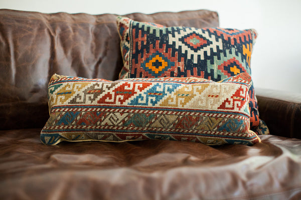 Unique Caucasian Accent Pillow - Old New House