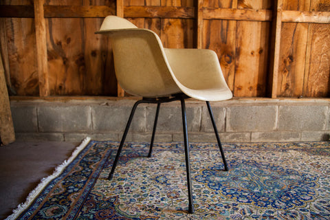 Eames Red Label Parchment Chair