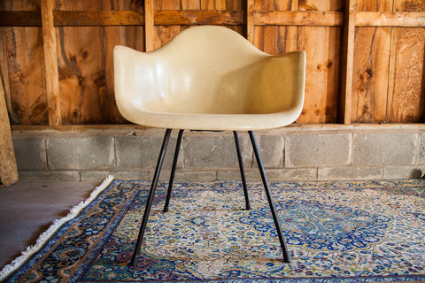 Eames Venice Label Parchment Chair - Old New House