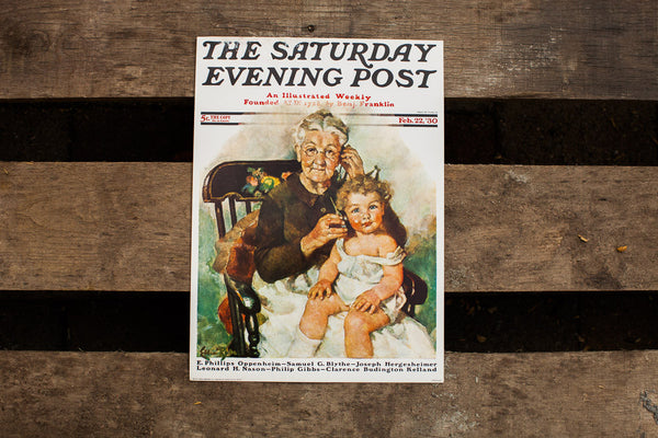 Rockwell Saturday Evening Post Vintage Lithograph