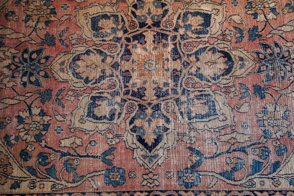 3x5 Blanched Worn Vintage Rug - Old New House