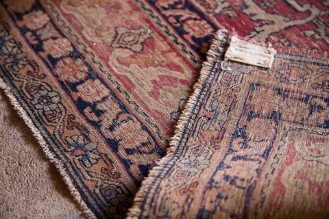 Overcasting and Securing of Carpets