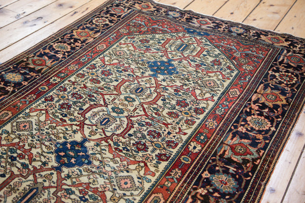 Finely Knotted Antique Persian Rug / Item 1294 image 2