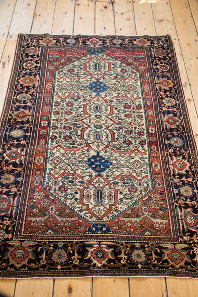 Finely Knotted Antique Persian Rug / Item 1294 image 7
