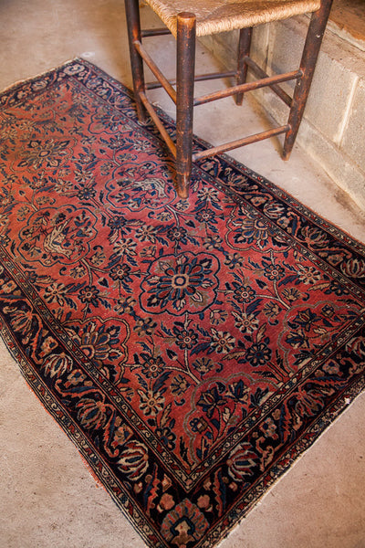 Dainty Sarouk Rug Runner - Old New House