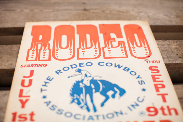 Mid Century Rodeo Poster - Old New House