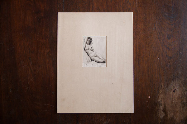 1930s Morris Henry Hobbs Nude Woman - Old New House