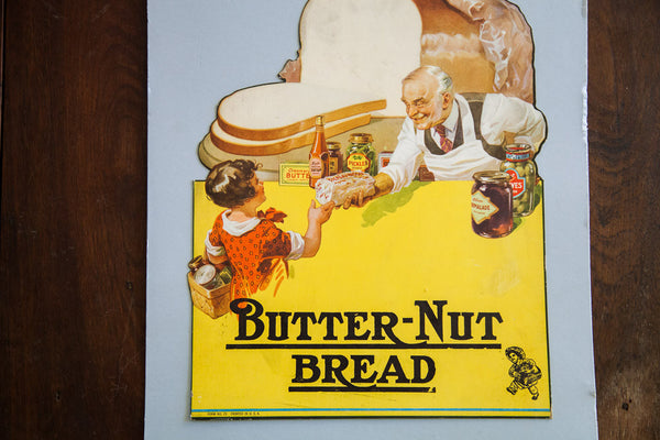 Butter Nut Bread Advertising Poster
