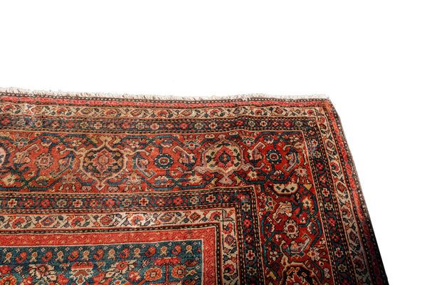 13x20 Fine Antique Persian Palace Carpet - Old New House