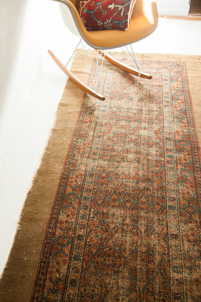 Lattice design rug runner