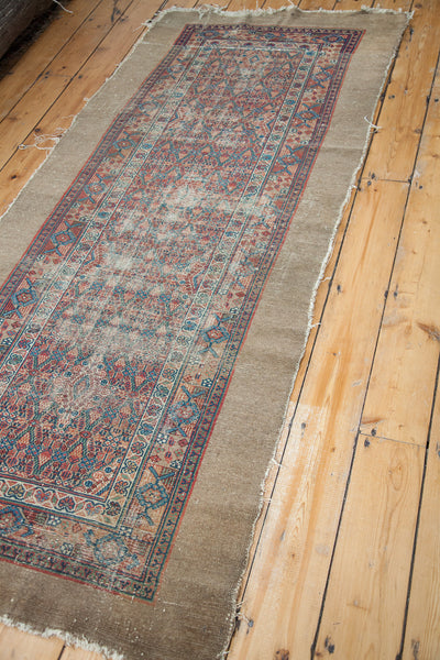 3x8 Antique Camel Hair Serab Style Runner